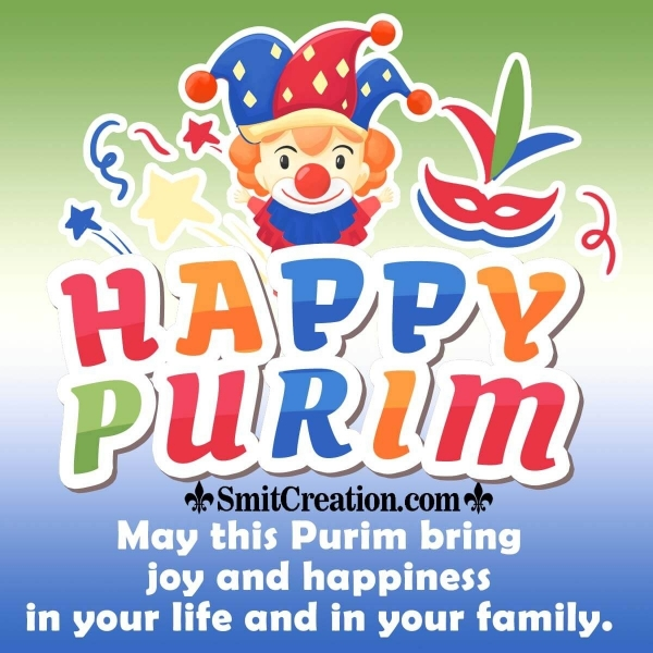 Happy Purim Wishes