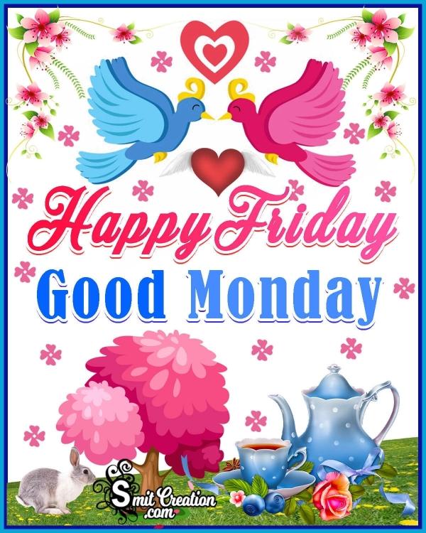 Good Morning Happy Friday Birds Image