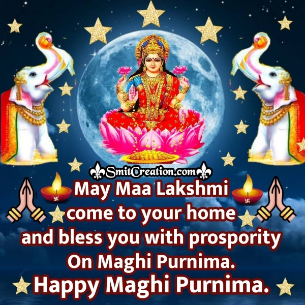 Happy Maghi Purnima Blessings Image