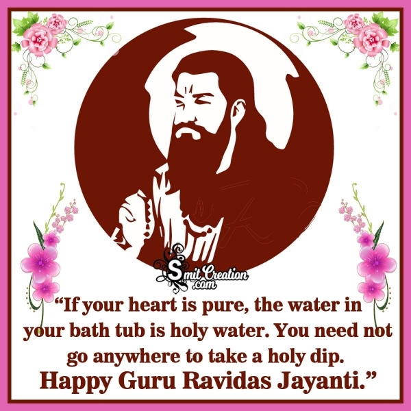 Happy Guru Ravidas Jayanti Quote