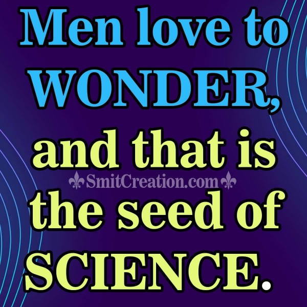 National Science Day Quote