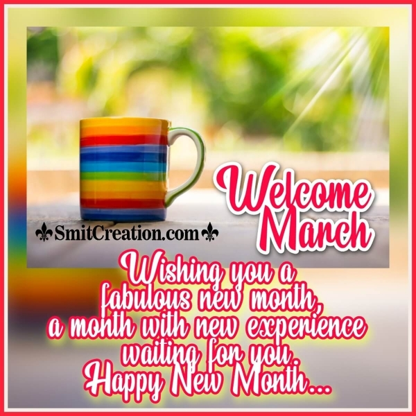 Welcome March Wish Image