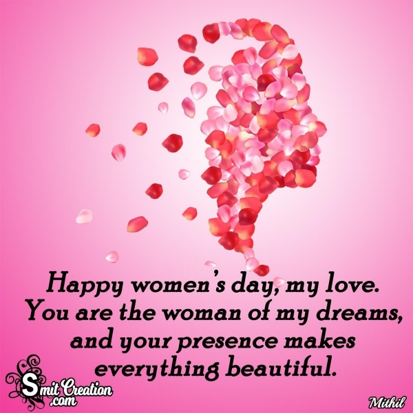 Happy Women's Day Messages for Girlfriend