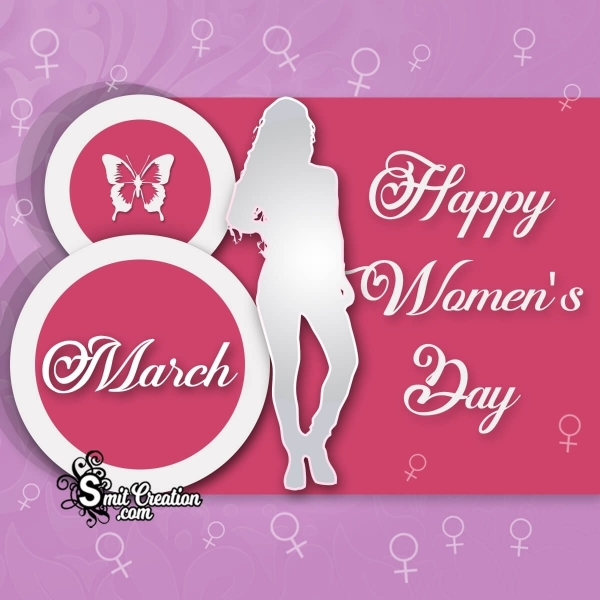 8 March Happy Women's Day Image
