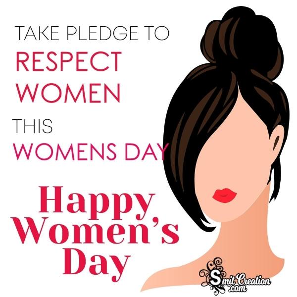 Happy Women's Day Pledge