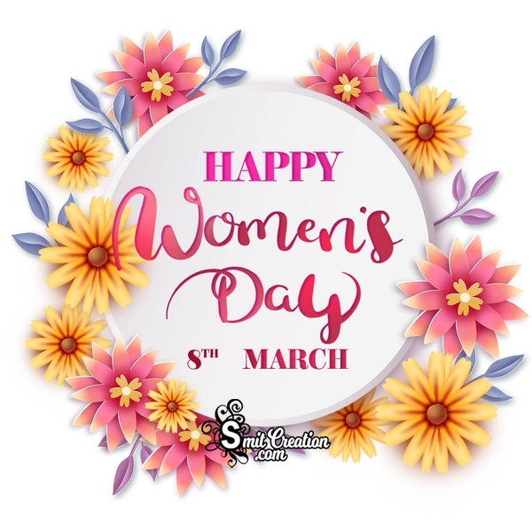 Women's Day Floral Image