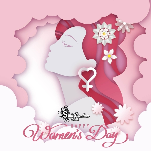 Happy Women's Day Graphic Card