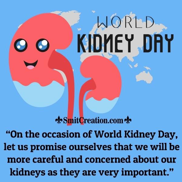 World Kidney Day Awareness Message