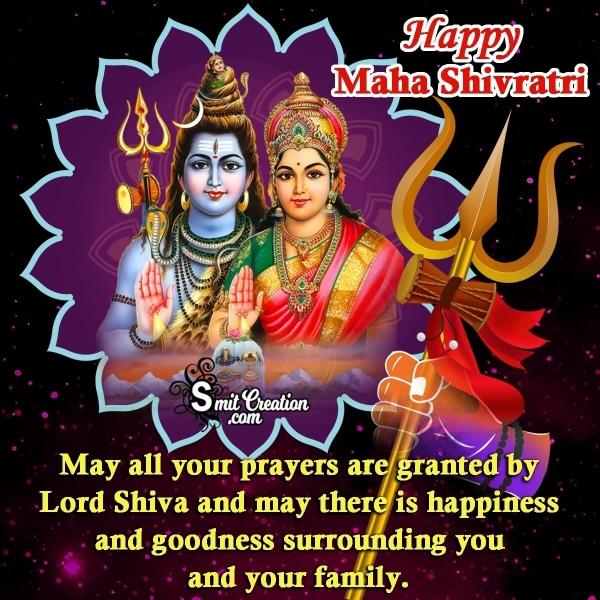 Happy Maha Shivratri Wishes Quotes