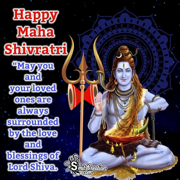 Happy Maha Shivratri Messages