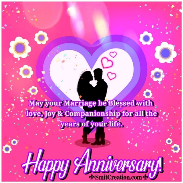 Happy Anniversary Blessing