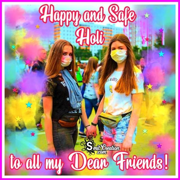 Happy & Safe Holi