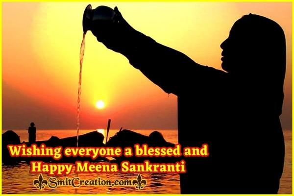 Happy Meena Sankranti Blessings