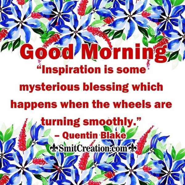 Good Morning Mysterious Blessing