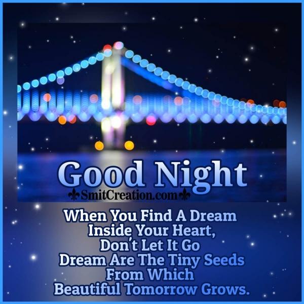 Good Night Dream Quote