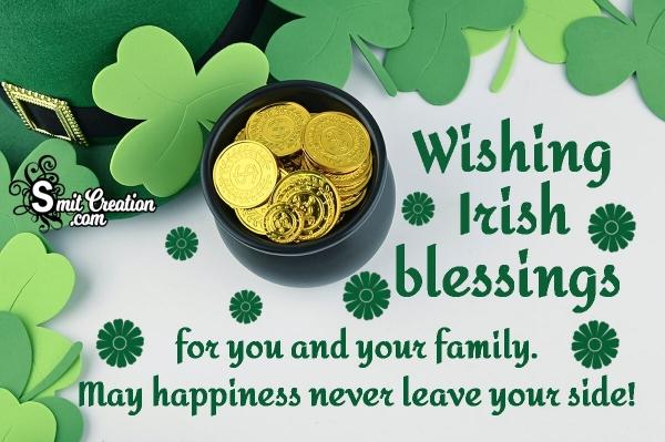 Wishing Irish Blessings