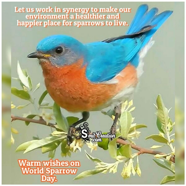 World Sparrow Day Messages
