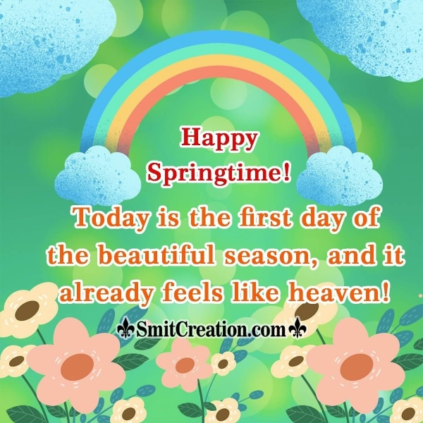 Happy Springtime!