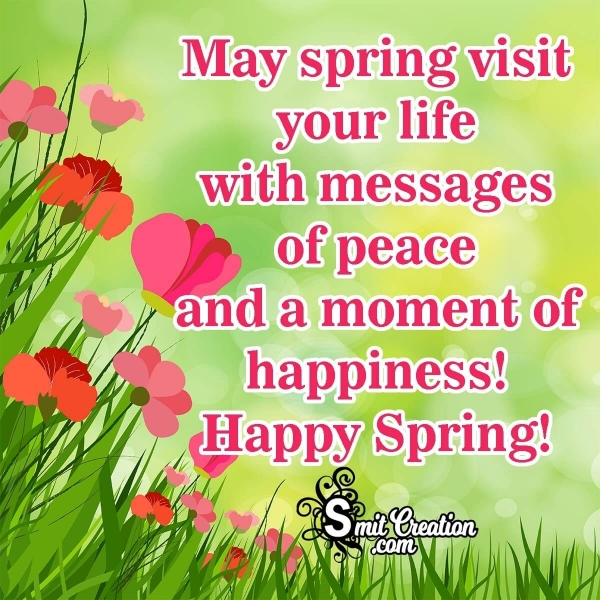 Happy Spring Messages