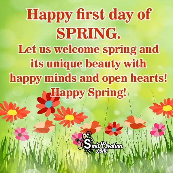 Happy Spring Wishes