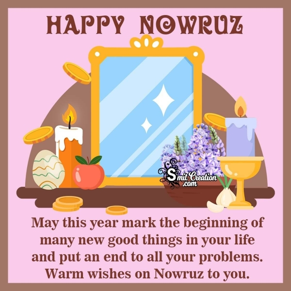 Warm Wishes On Nowruz