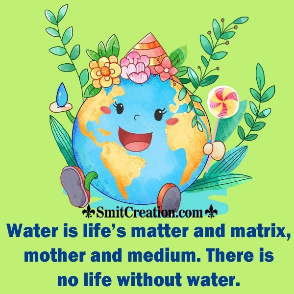 Water Day Quote