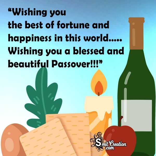 Happy Passover Messages For Social Media