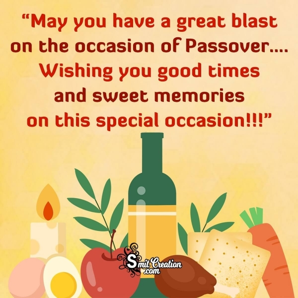 Happy Passover Wish Image