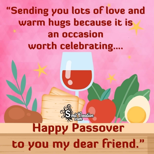 Happy Passover Messages for Friends