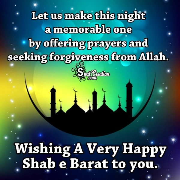 Shab e Barat Wishes Messages