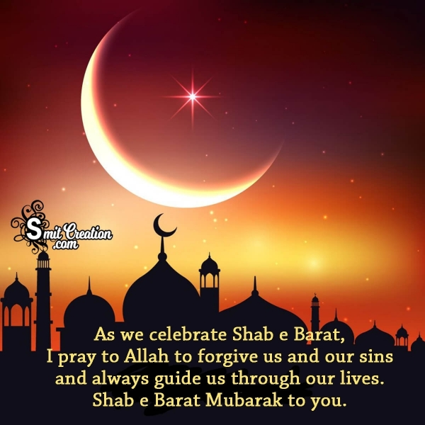 Shab e Barat Mubarak Messages