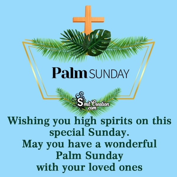 Best Palm Sunday Messages