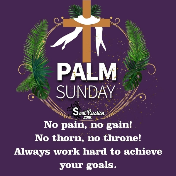 Happy Palm Sunday Wishes /Messages