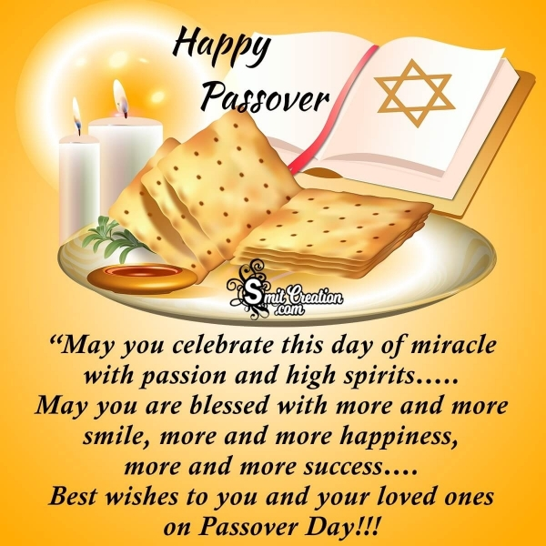 Best Wishes For Happy Passover Day