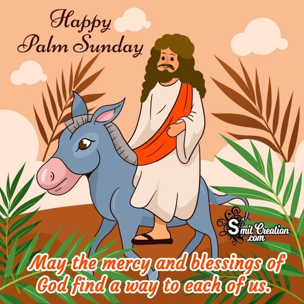 Happy Palm Sunday Blessings