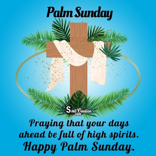 Happy Palm Sunday Wishes