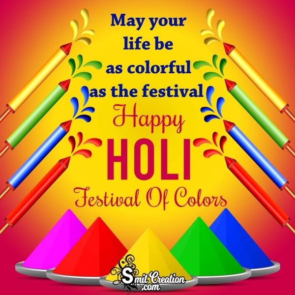 Happy Holi Festival Wish
