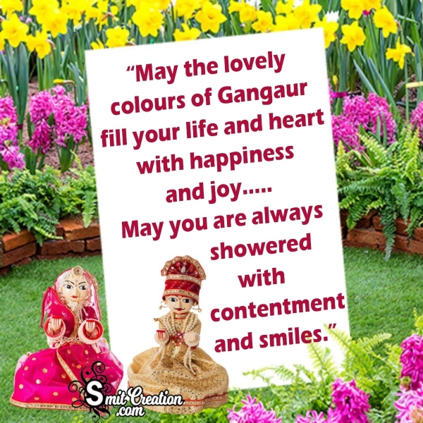 Happy Gangaur Wish Image