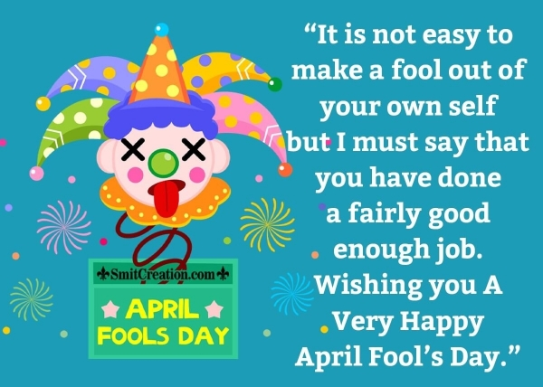 April Fools Day Messages