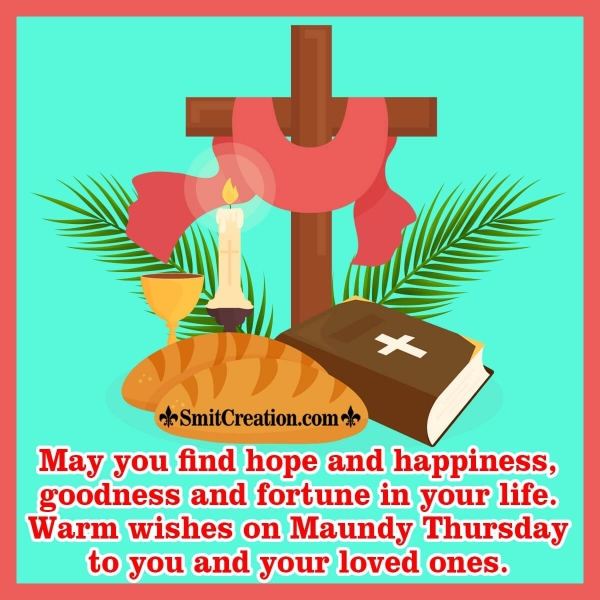 Happy Maundy Thursday Quotes