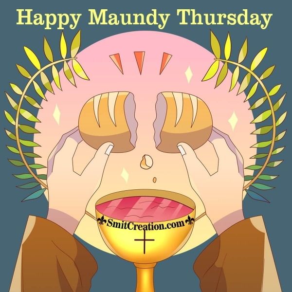 Happy Maundy Thursday Image
