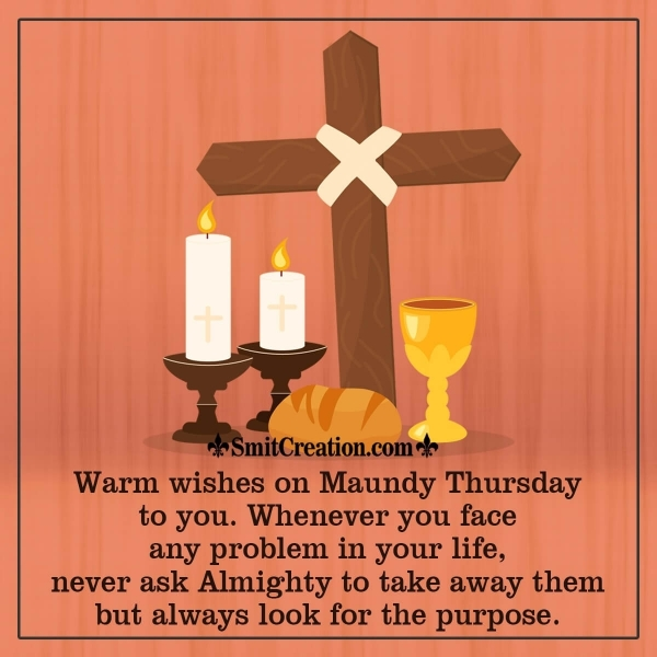 Happy Maundy Thursday Wishes