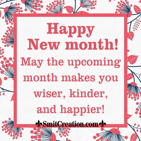 Happy New Month Wish Image