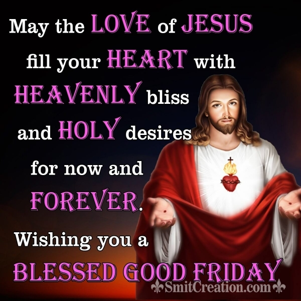 Good Friday Wishes for Love