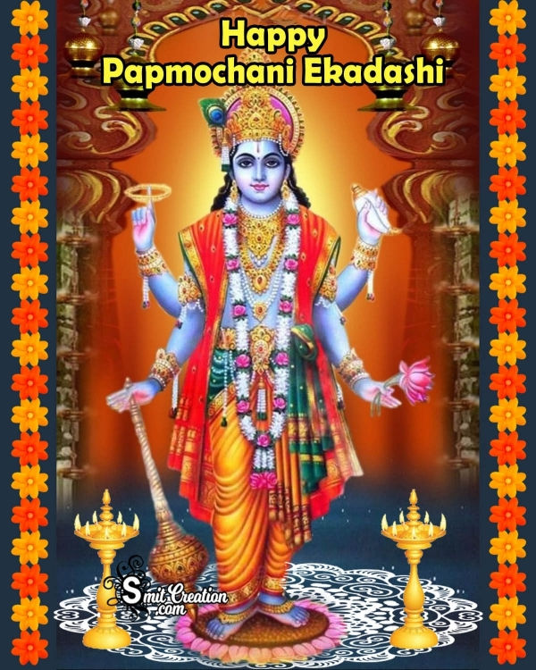Happy Papmochani Ekadashi Image