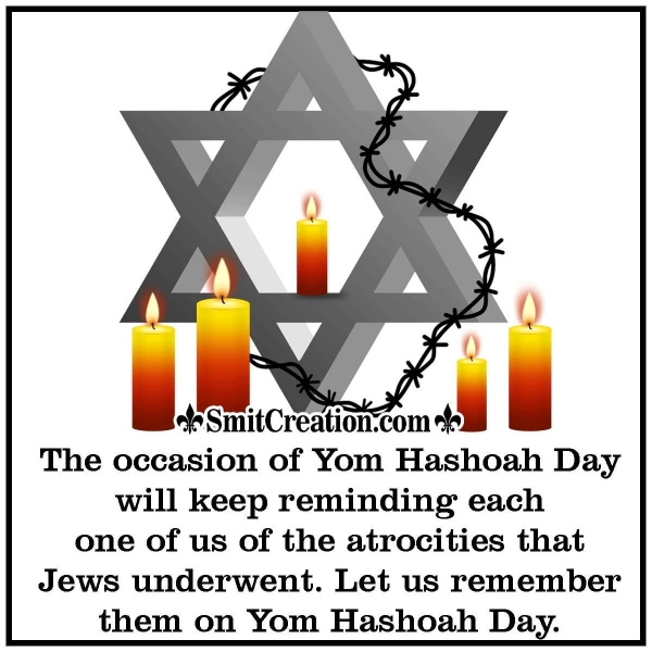 Happy Yom Hashoah Day Messages