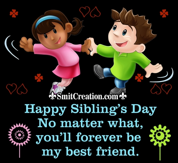 Happy Siblings Day Wish