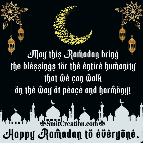 Happy Ramadan Message Image