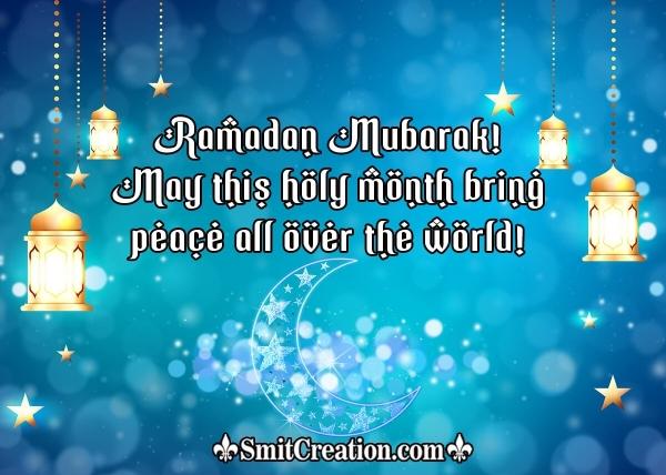 Ramadan Mubarak Wish Pic