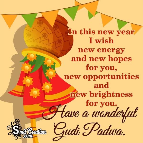 Happy Gudi Padwa Wishes Messages For Friends